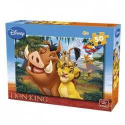 ΠΑΖΛ 50 ΤΕΜ LION KING  King International 05269