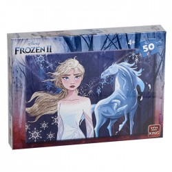 ΠΑΖΛ 50 ΤΕΜ FROZEN II 18x25cm King International 55817