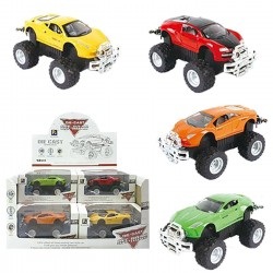 DIE CAST FRICTION OFF ROAD SUPER CAR 10.5cm 13cm ToyMarkt 902045