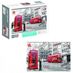 ΠΑΖΛ 1000 ΤΕΜ LONDON NEO 30x23x7cm ToyMarkt 891661